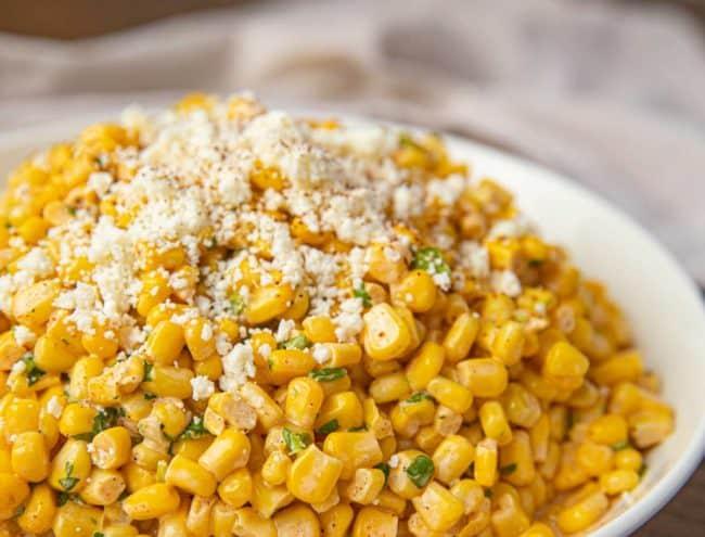 Bowl of Mexican Corn Salad