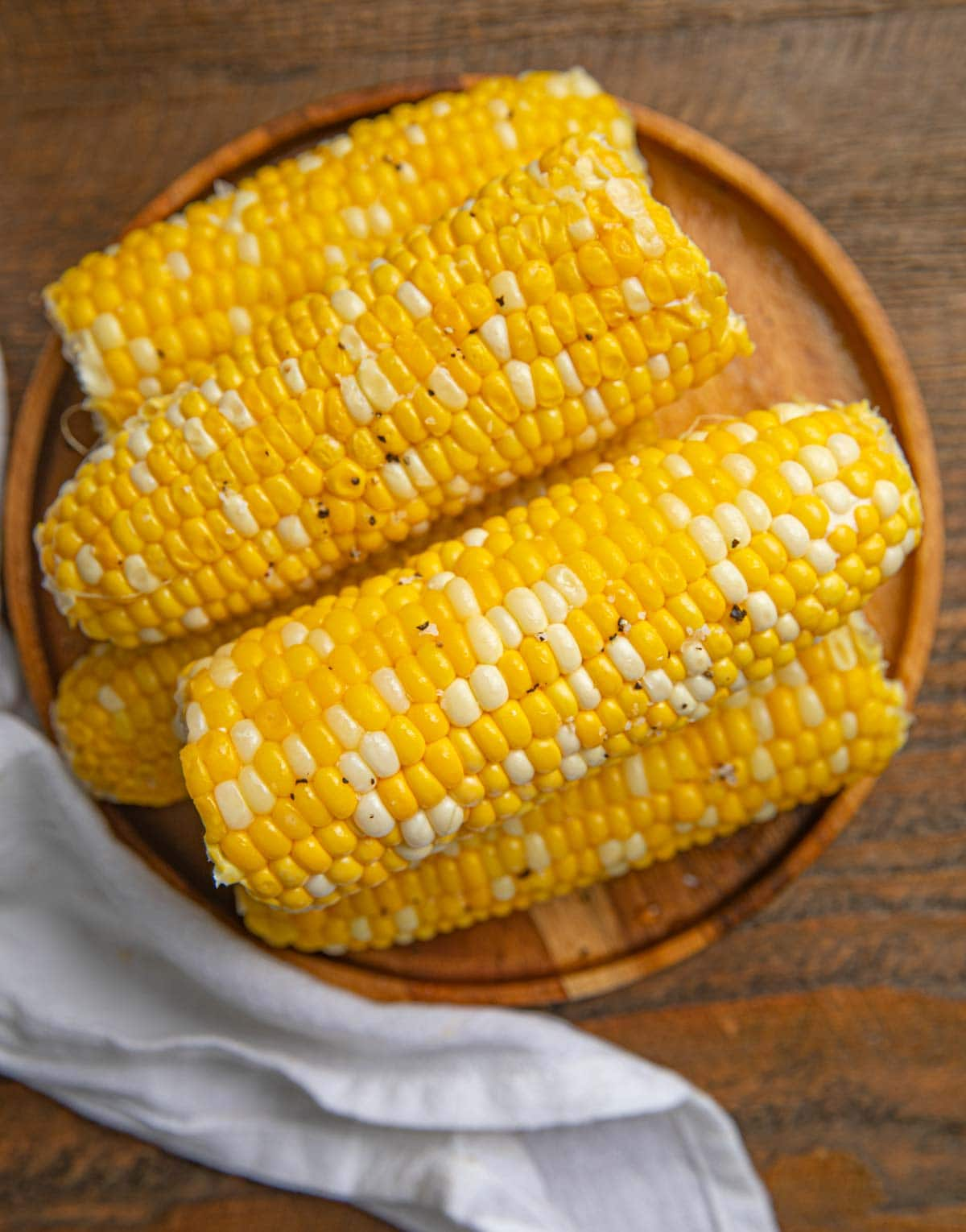 Milk Boiled Corn from above