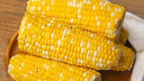 Milk Boiled Corn