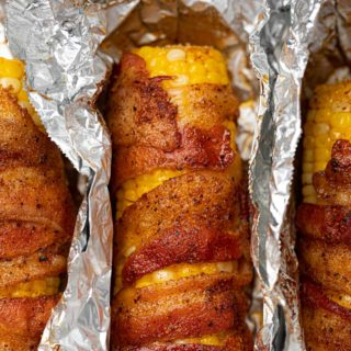 BBQ Corn with Bacon and BBQ Seasonings