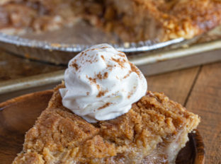 Apple Crumb Pie Slice