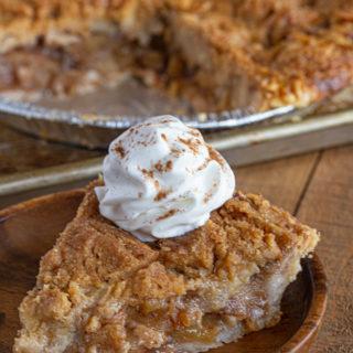 Apple Crumb Pie Slice