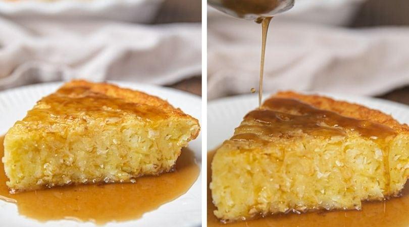 Bonefish Grill Coconut Pie w/Rum Sauce (Copycat) - Dinner, then Dessert