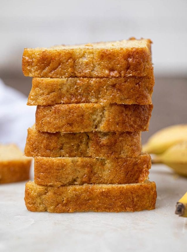 Cake Mix Banana Bread