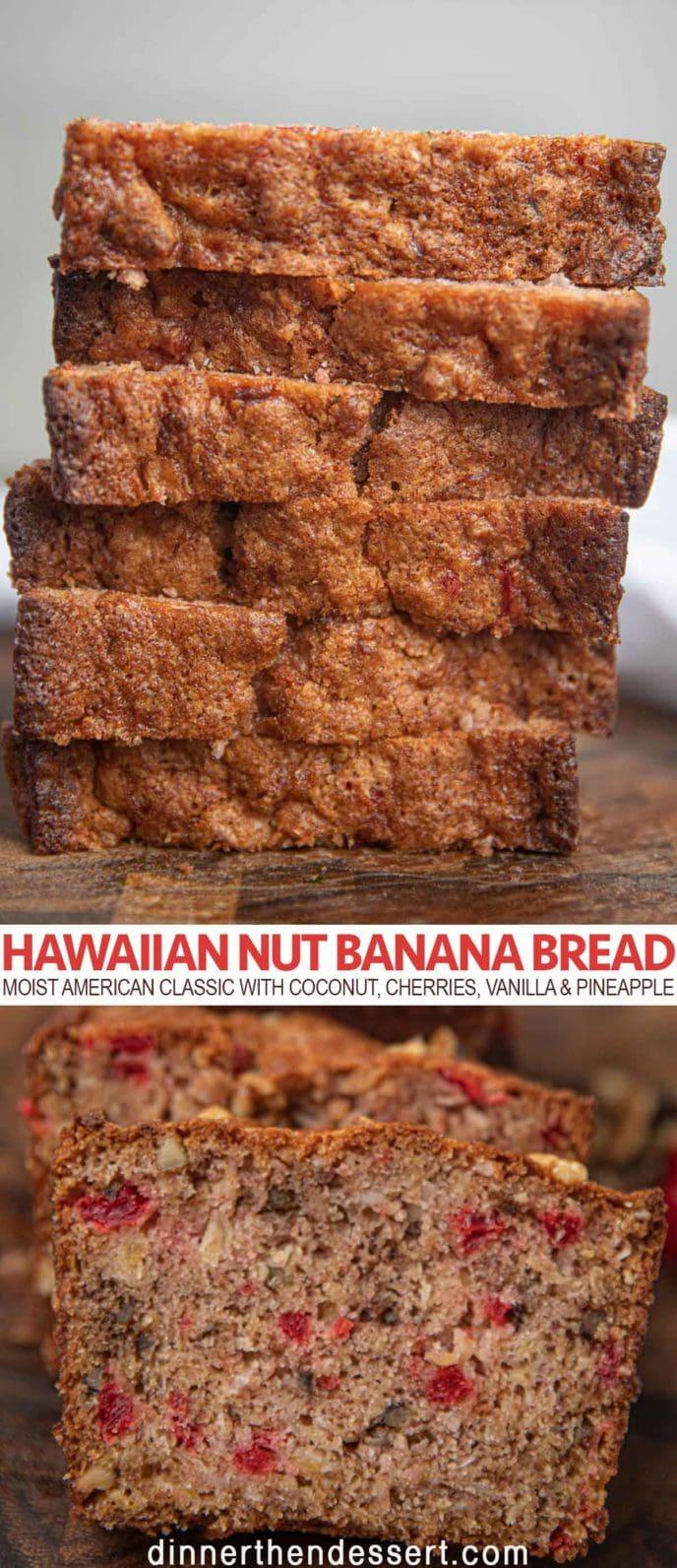 Hawaiian Nut Banana Bread
