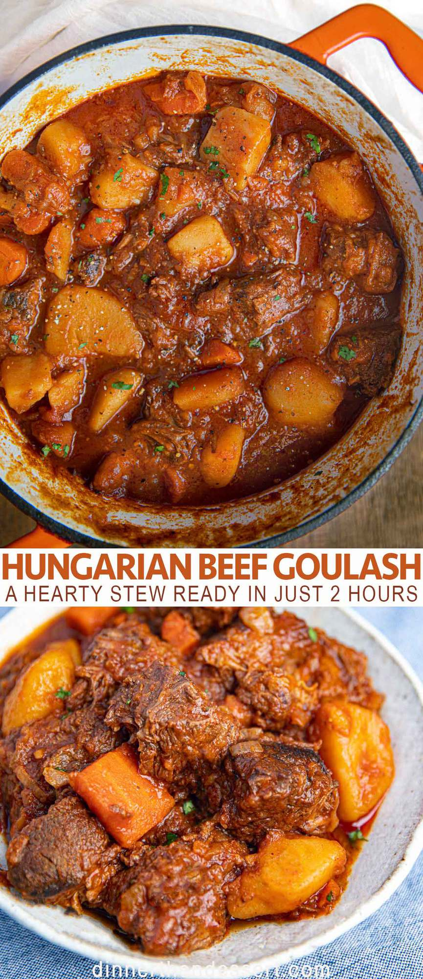Easy Hungarian Goulash Meltingly Fall Apart Tender Dinner Then Dessert