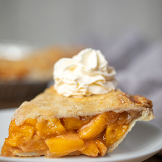 Slice of Peach Pie