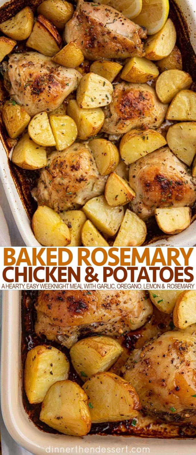 Baked Rosemary Chicken & Potatoes