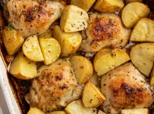 Baked Rosemary Chicken and Potatoes
