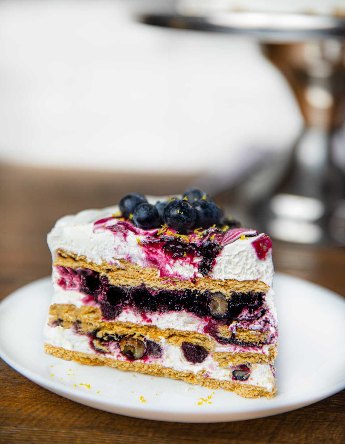 Blueberry Icebox Cake