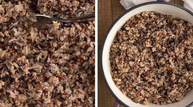 Easy Easy Wild Rice (Fail-Proof!) - Dinner, then Dessert