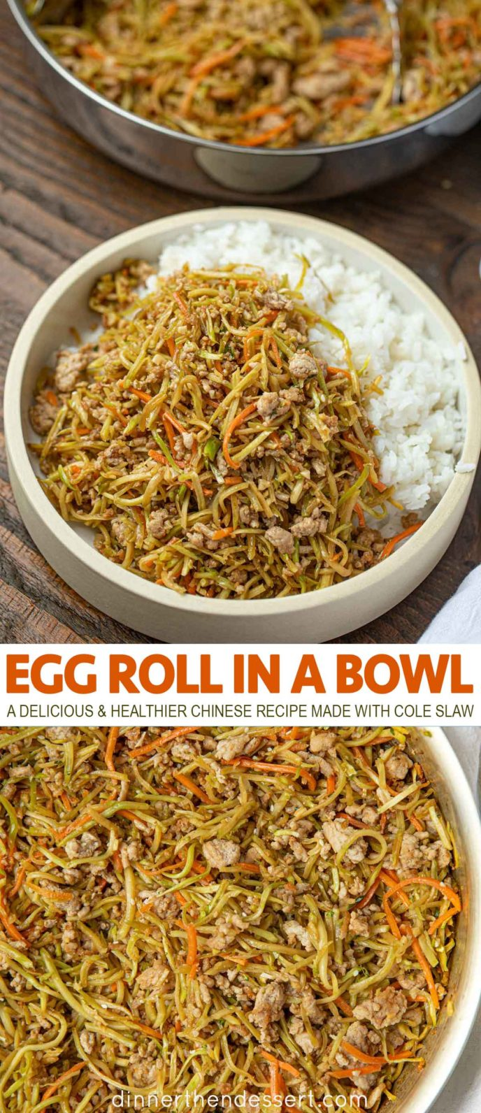 Egg Roll Bowl