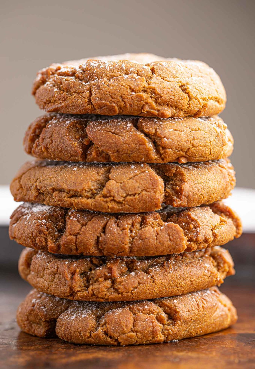 Stack of Ginger Cookies