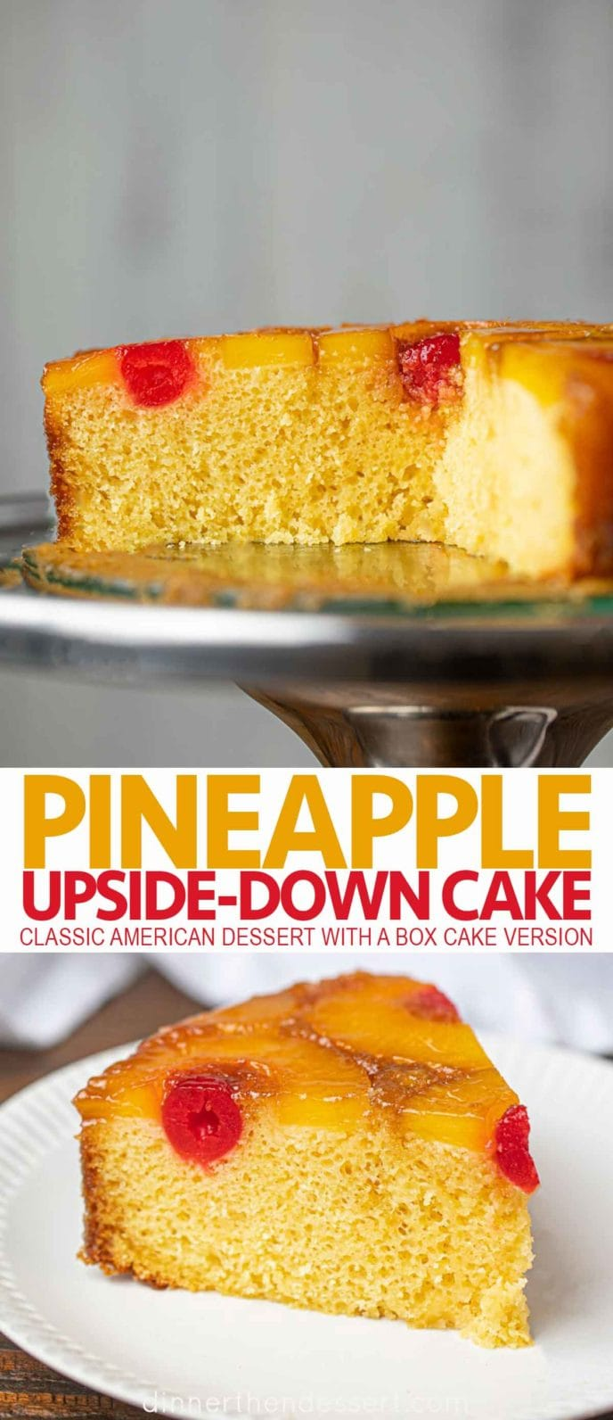 Cut Pineapple-Upside Down Cake