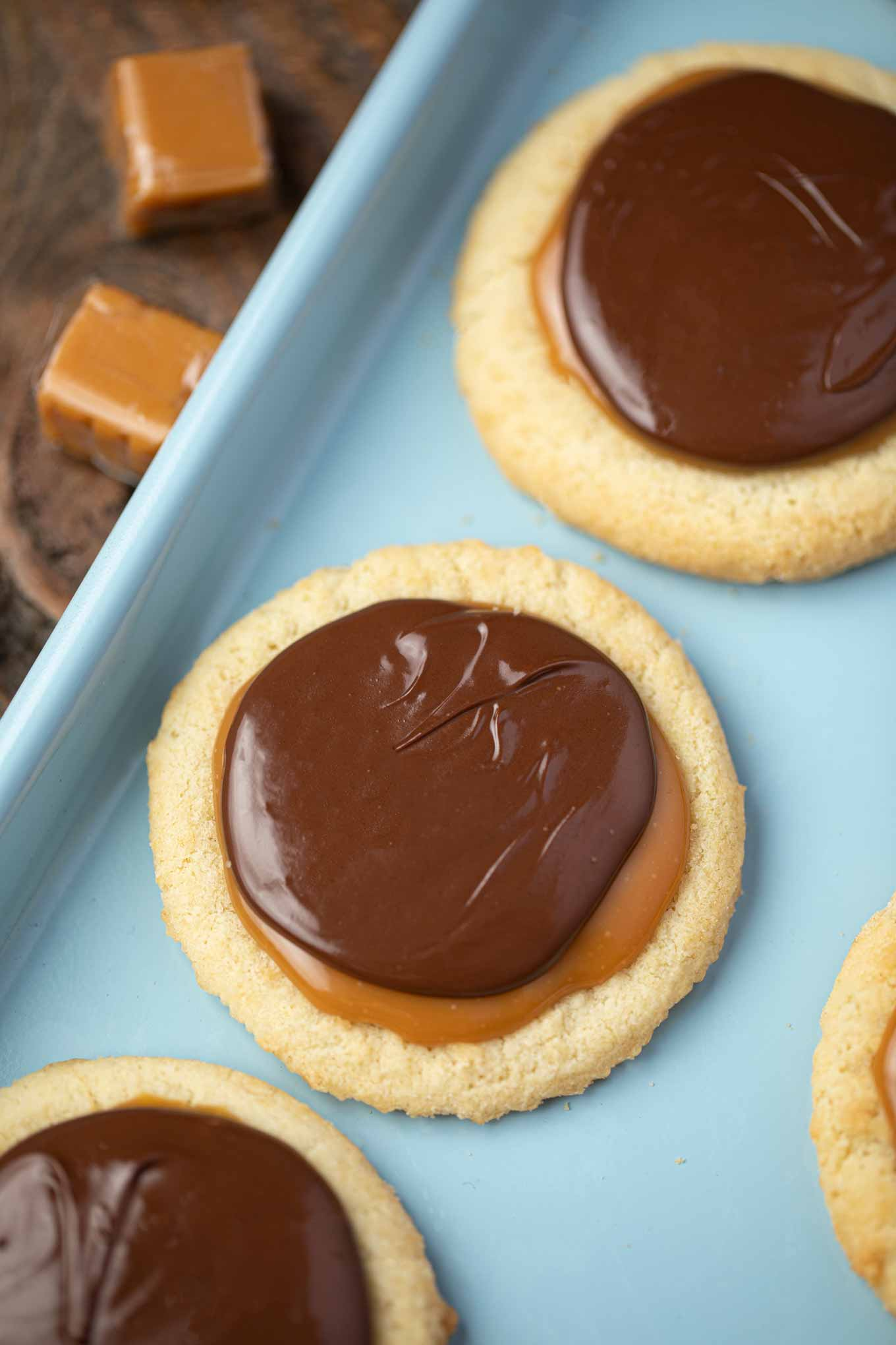 Easy Twix Cookies Just Like Twix Candy Bars Dinner Then Dessert