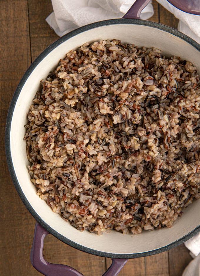 Easy Easy Wild Rice Fail Proof Dinner Then Dessert
