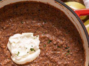Mexican Black Bean Soup