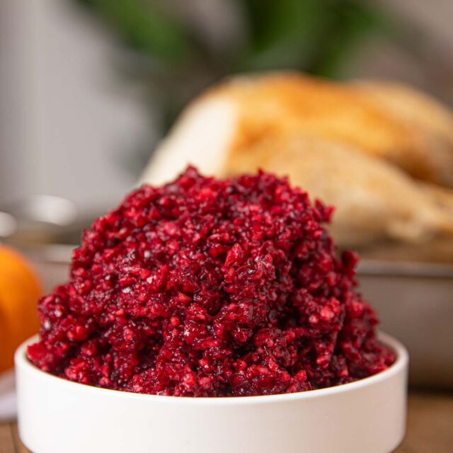 Holiday Cranberry Relish