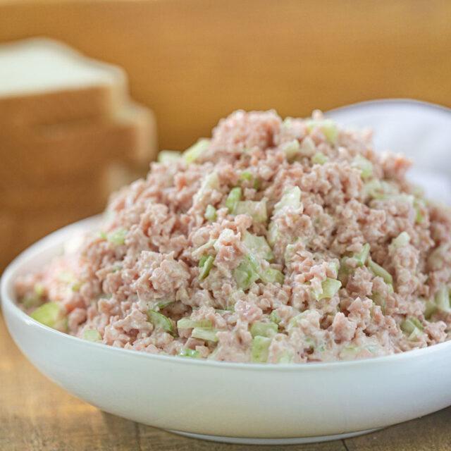 Ham Salad in bowl
