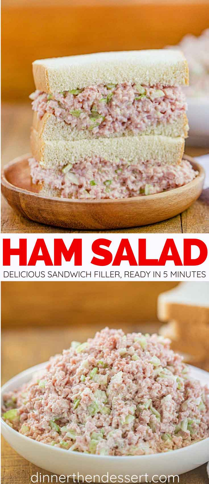 Ham Salad collage