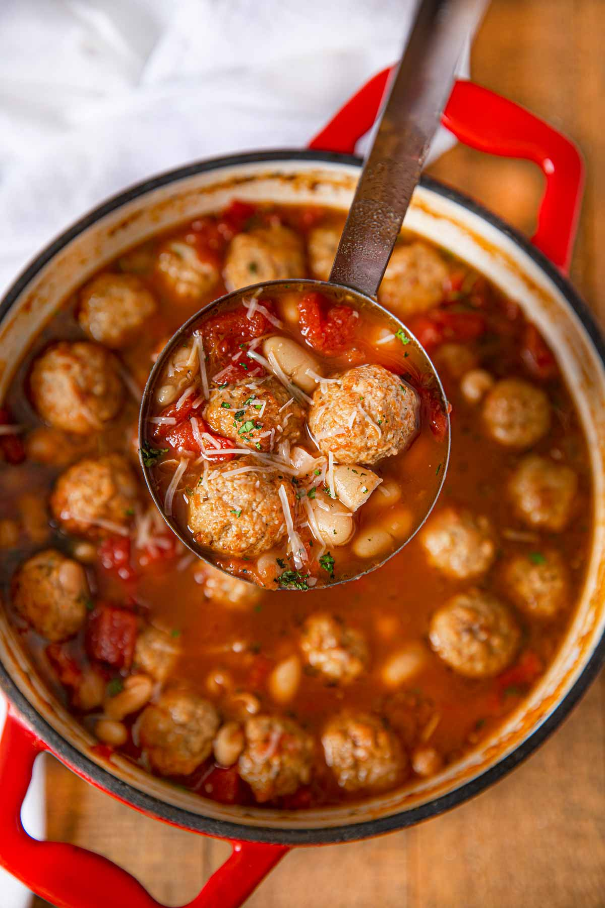 Italian Meatball Soup Recipe W Frozen Meatballs Dinner Then Dessert