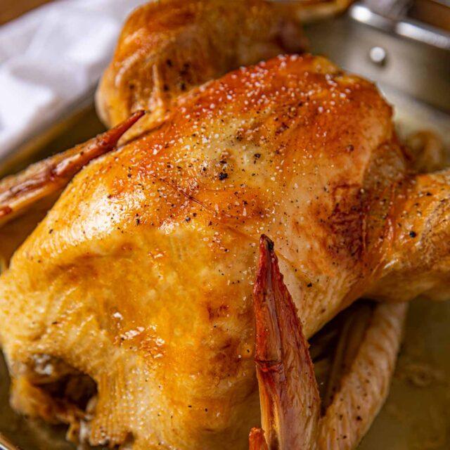 No-Baste Roast Turkey
