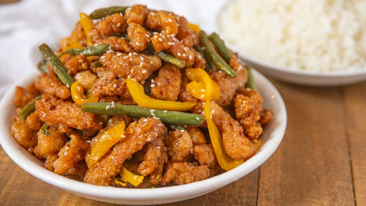Panda Express Honey Sesame Chicken Breast Copycat Dinner Then Dessert