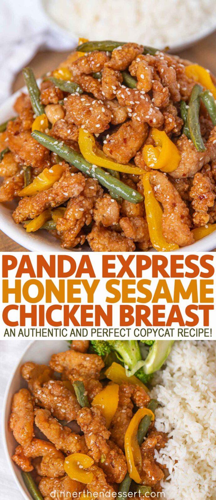 Honey Sesame Chicken Breast