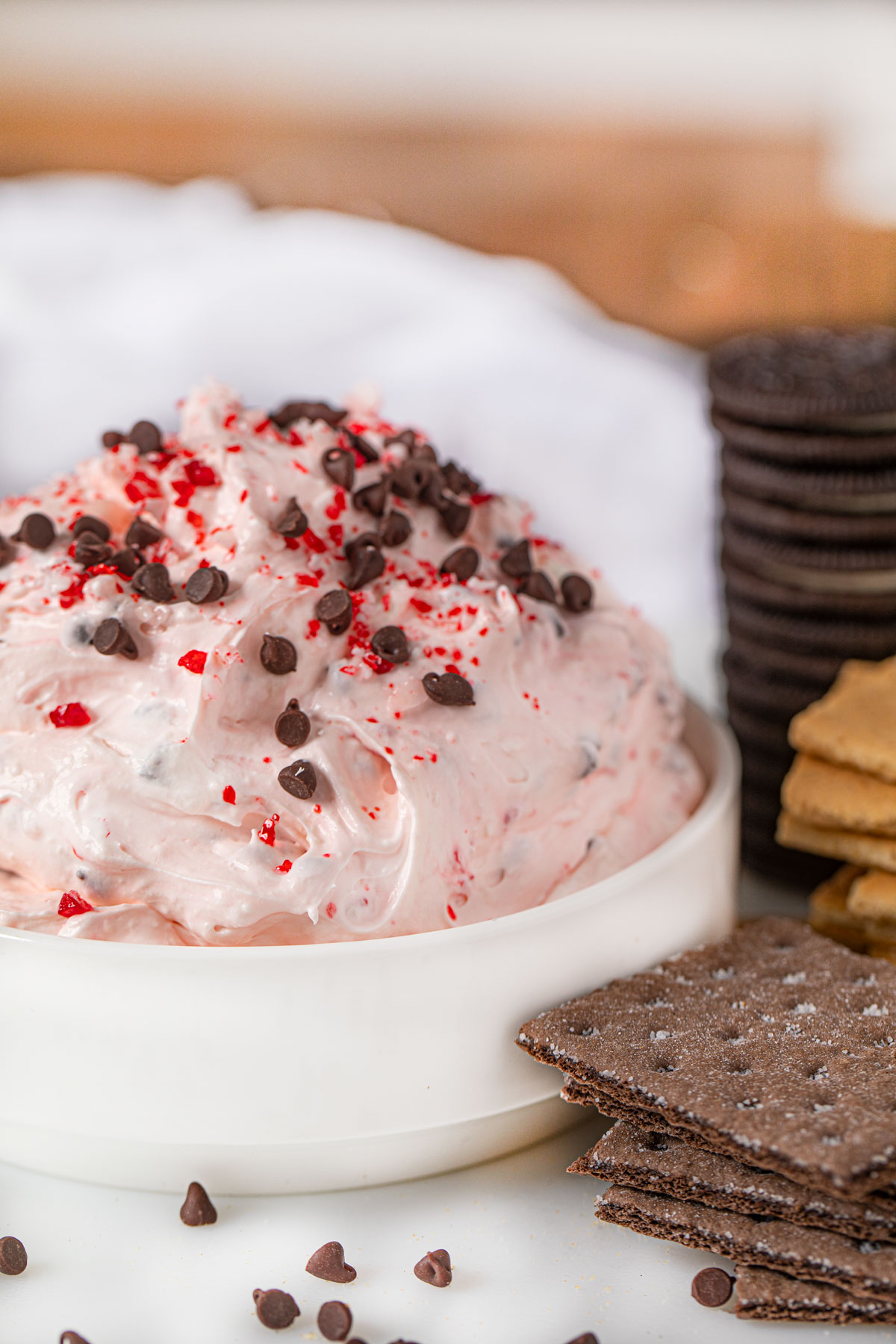 Peppermint Bark Dip