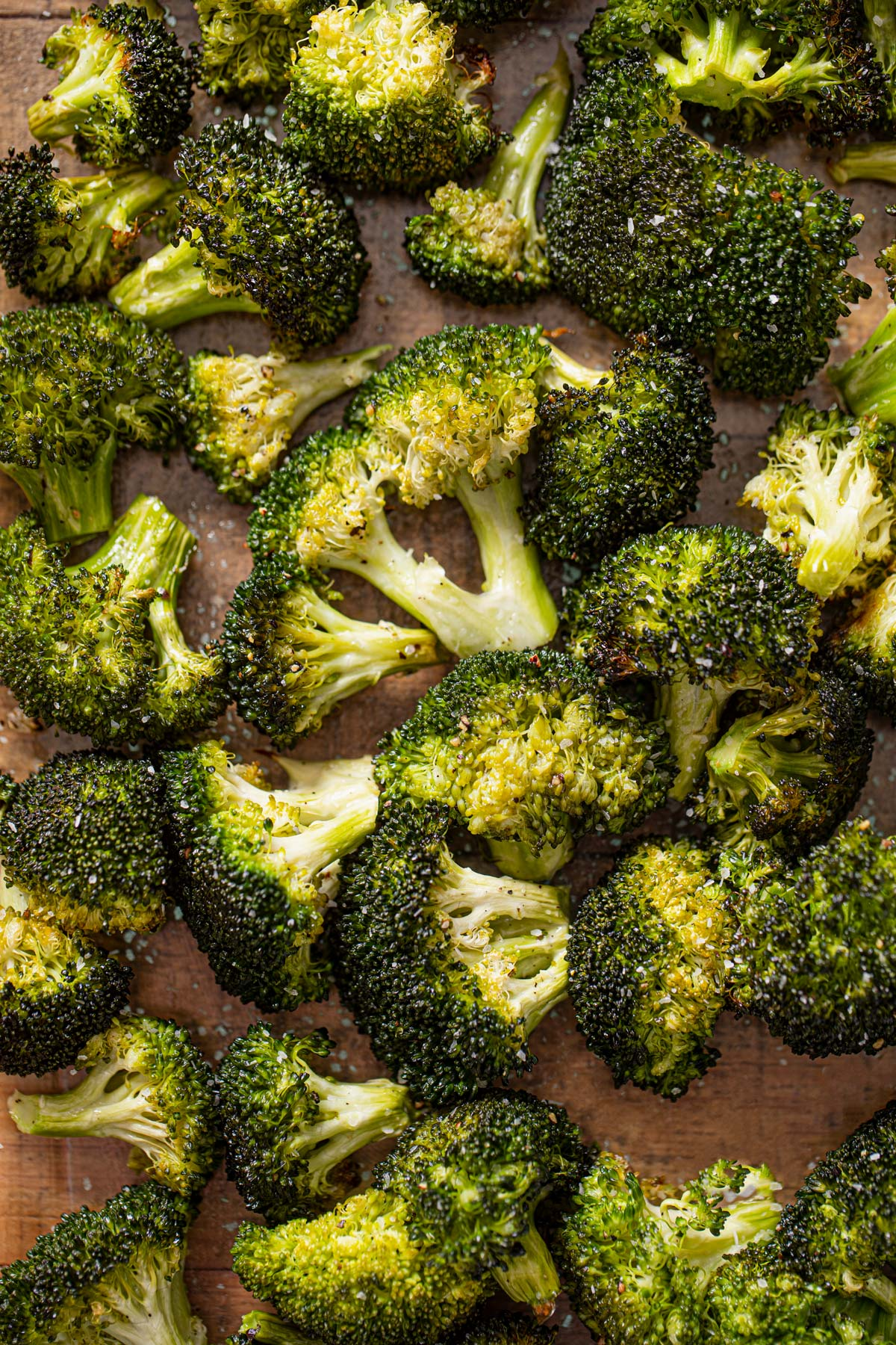 Up Close Roasted Broccoli