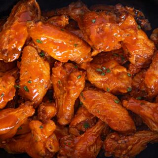 Buffalo Wings made in the slow cooker