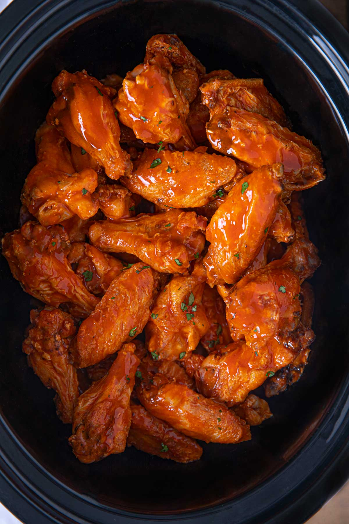 Slow Cooker Buffalo Wings Recipe Crock Pot Dinner Then Dessert