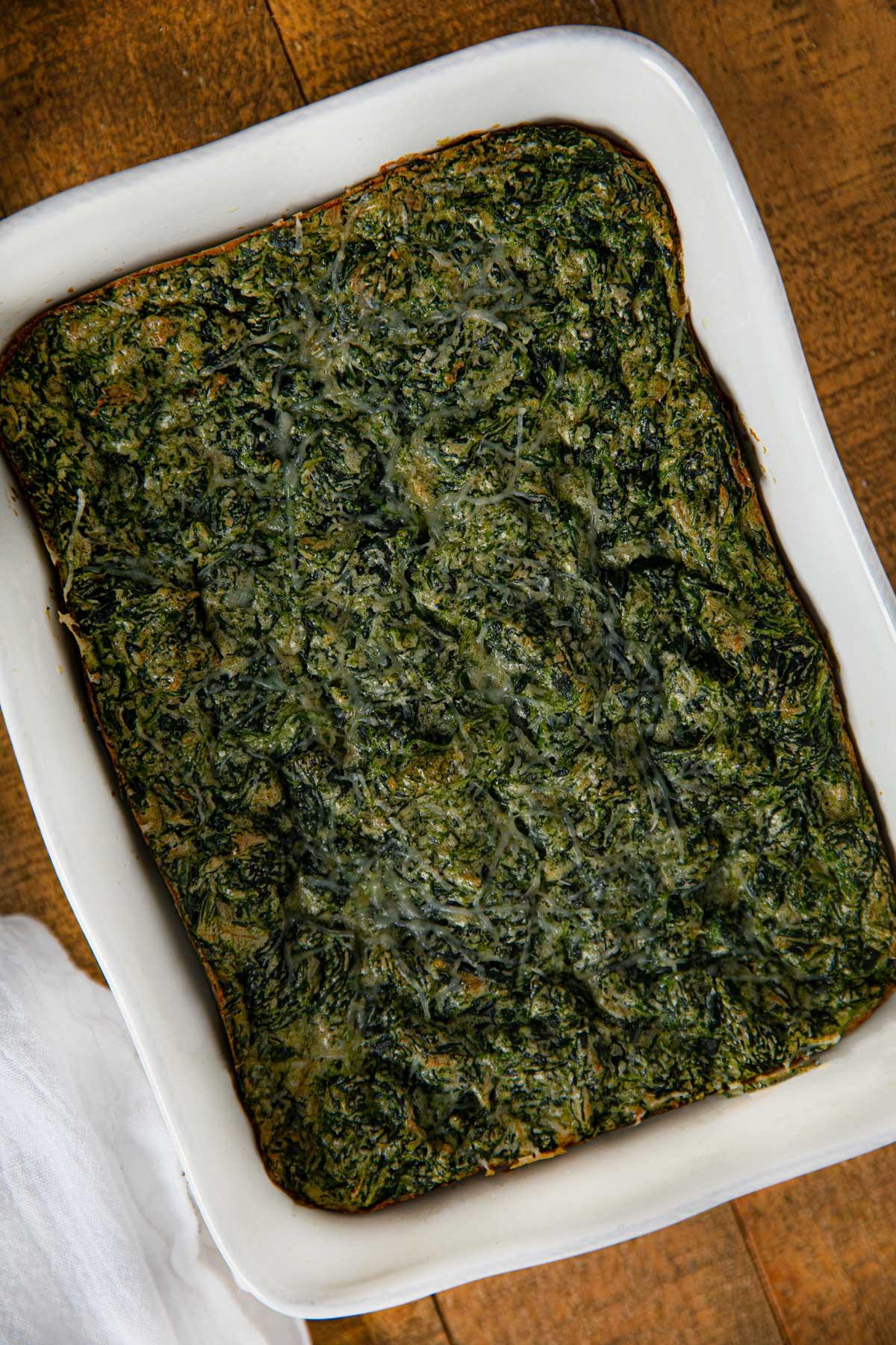 Stouffer's Copycat Spinach Souffle
