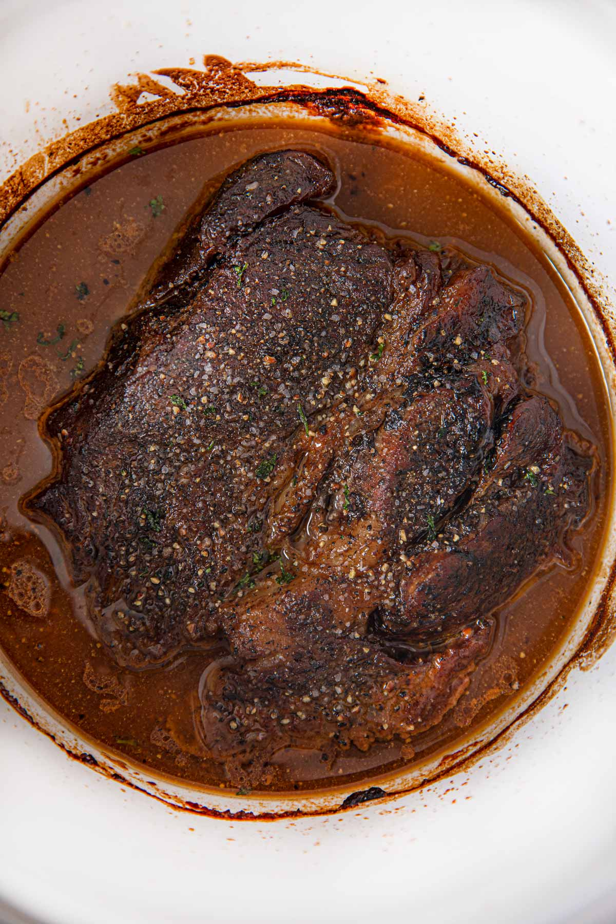 Crockpot Sweet and Tangy Pot Roast