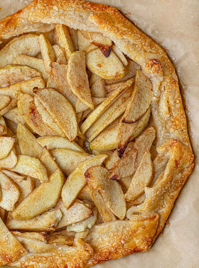 Apple Crostada