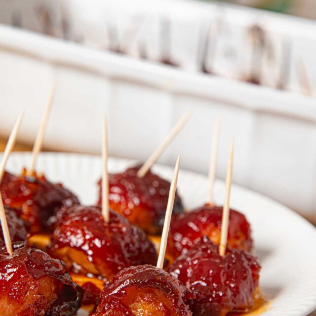 Bacon Wrapped Brown Sugar Water Chestnuts