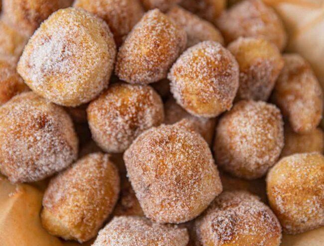 Buttery Cinnamon Sugar Pretzel Bites