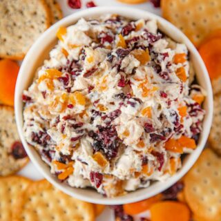 Cranberry Apricot Cream Cheese Dip
