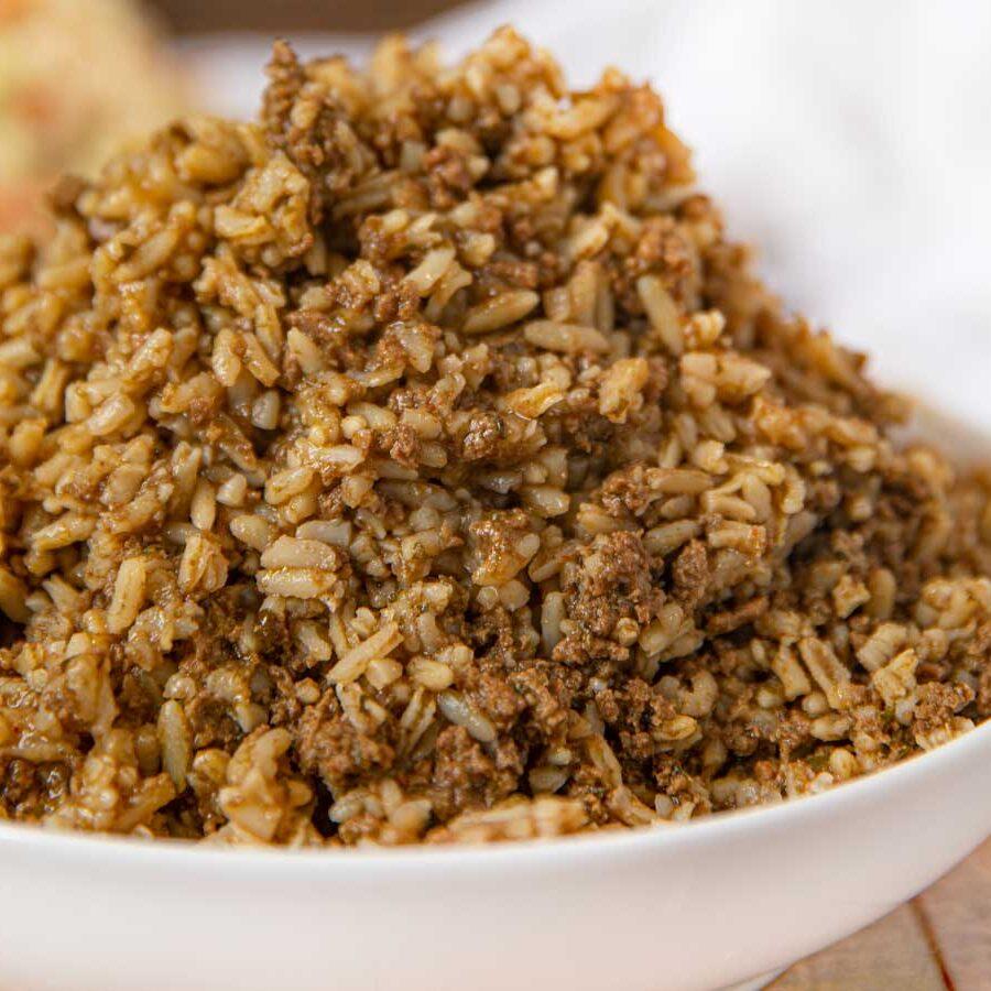 Popeyes Beefy Cajun Rice copycat