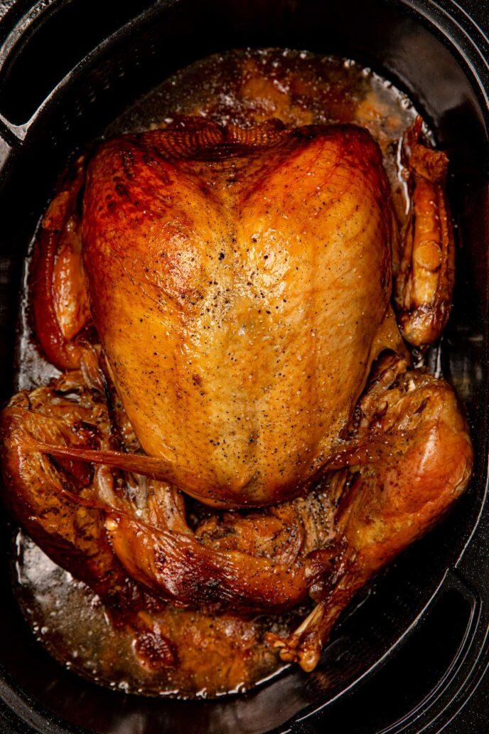 Turkey in an Electric Roaster