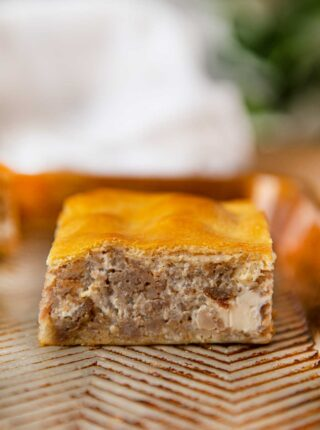 Sausage Cream Cheese Crescent Squares