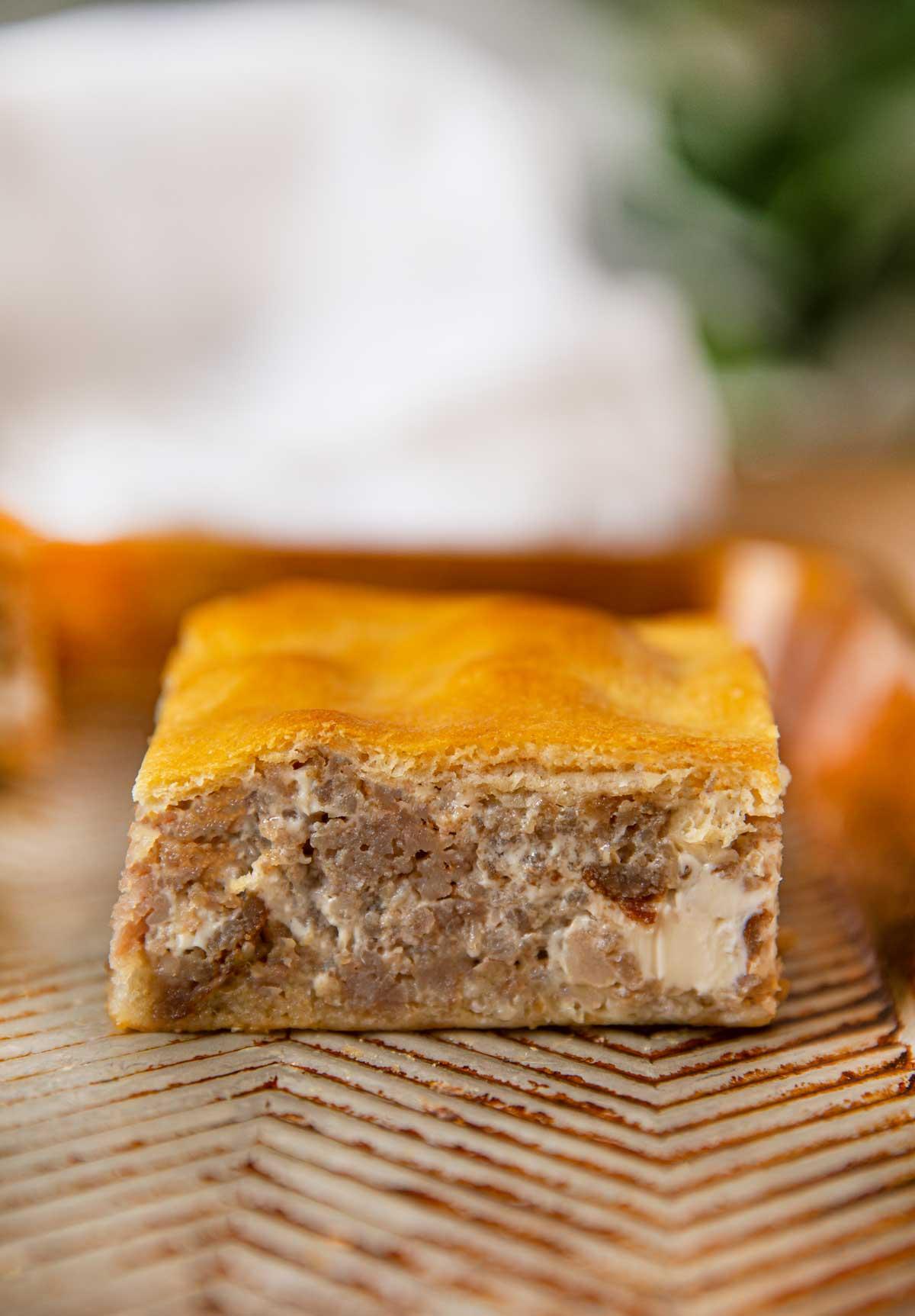 sausage cream cheese crescent roll casserole