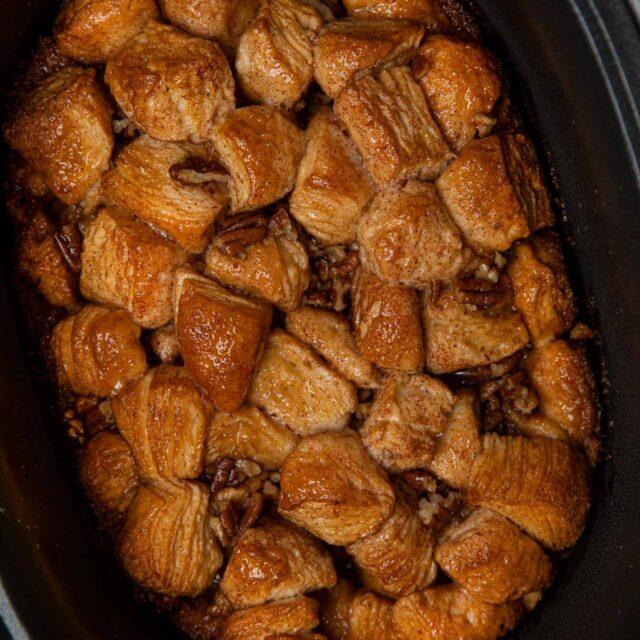 Crockpot Monkey Bread