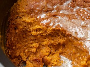 Slow Cooker Pumpkin Pie