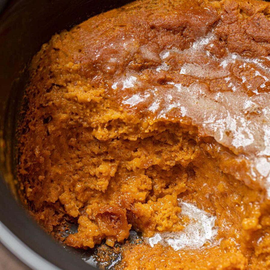 Slow Cooker Pumpkin Pie