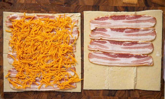 Bacon Pinwheel ingredients