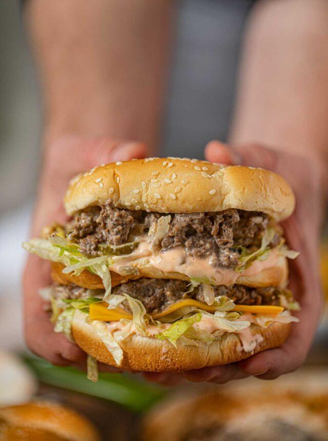 Double Decker Big Mac Sloppy Joes