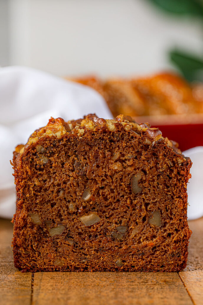 Slice of Carrot Bread