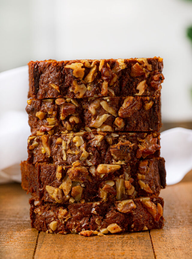 Stack of Carrot Bread