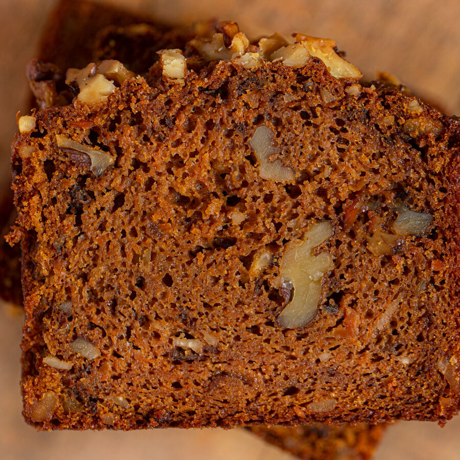 Carrot Bread with Walnuts